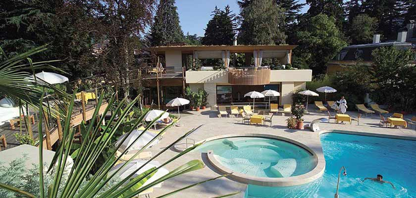 Park Hotel Mignon, Merano, Italy - outdoor pool & sauna pavillion.jpg